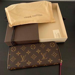 Louis Vuitton Clemence Wallet. Authentic.